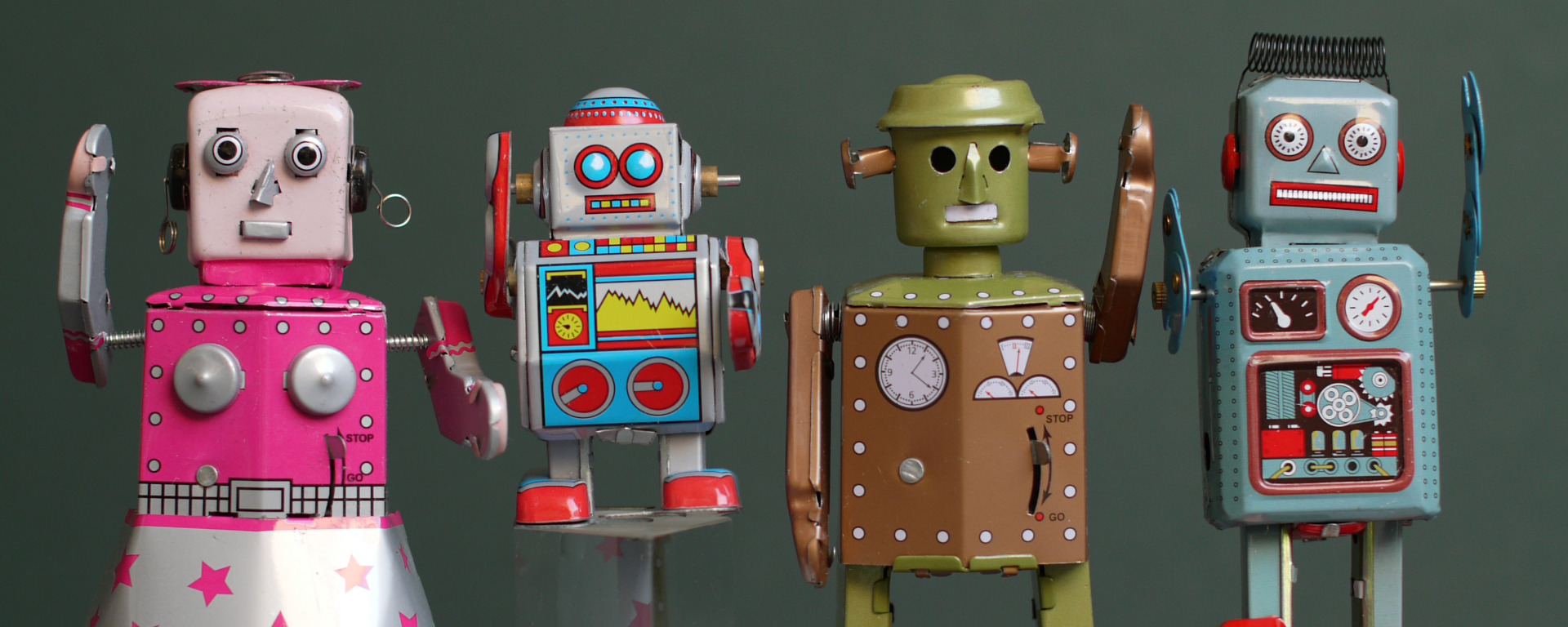 Which is the real robot?